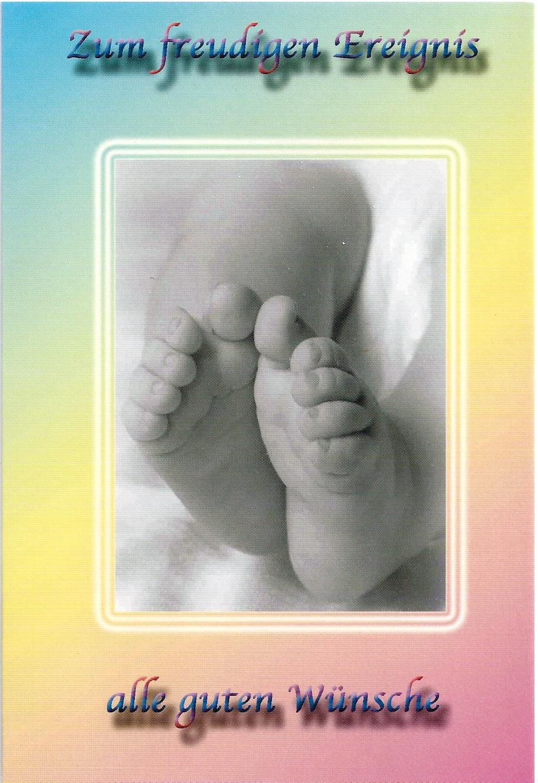 Ereignisbillett - Baby  03-31-1002