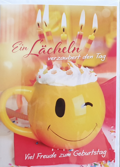 Geburtstagsbillett - Kassette 03-51-02792