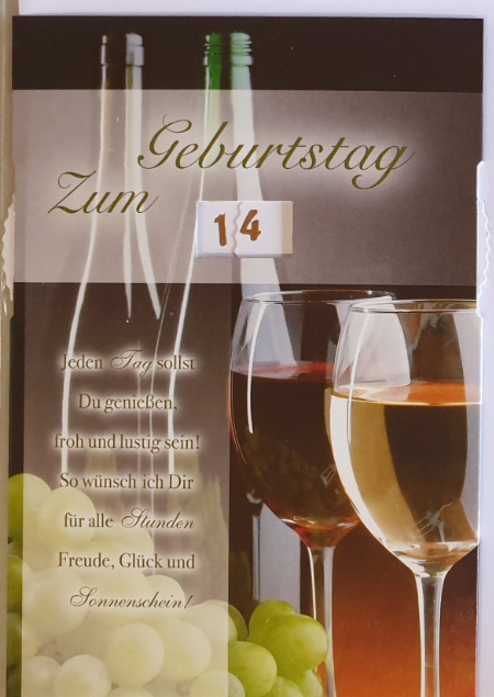 Einstell- Geburtstagsbillett 03-52-9863