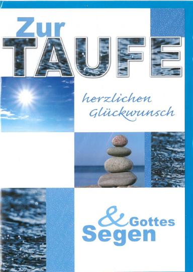 Taufebillett 03-32-3256