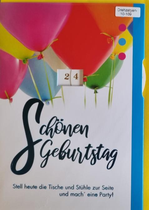 Einstell- Geburtstagsbillett 03-52-4425