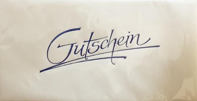 Kuvert - Gutschein 03-45-1596