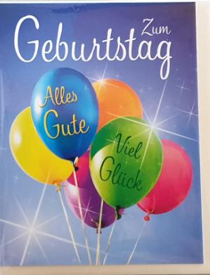 Geburtstagsbillett - Mini 03-51-6526