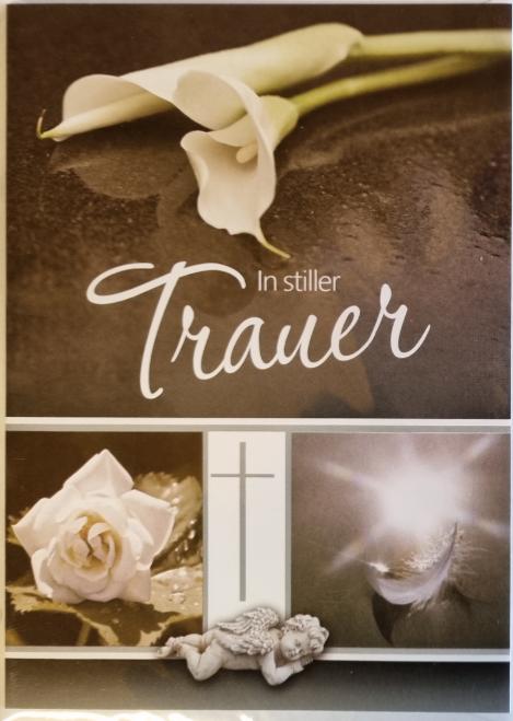 Trauerbillett - Kassette 03-81-02797