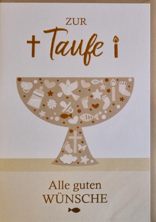 Taufebillett 03-32-2167