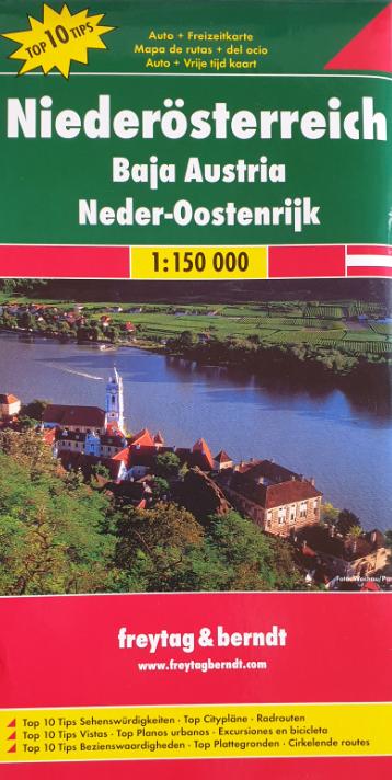 Auto - Freizeitkarte 07-FB - Niederösterreich