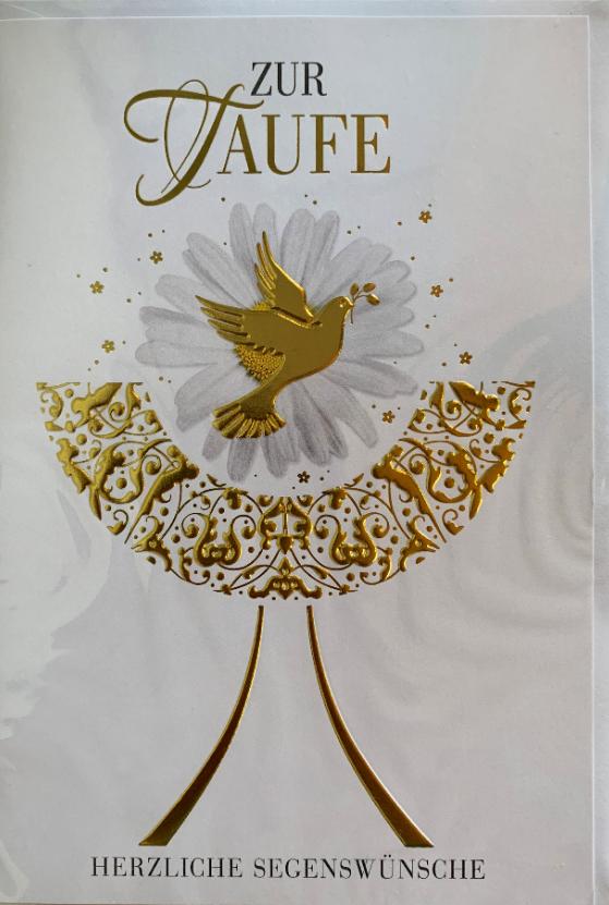 Taufebillett 03-32-9006