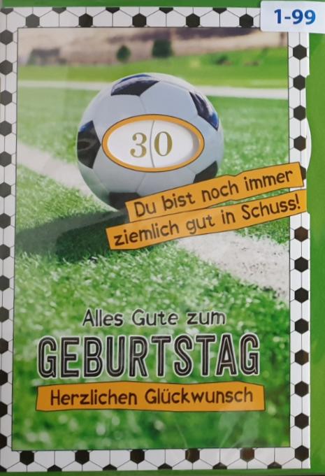 Einstell- Geburtstagsbillett 03-52-8004