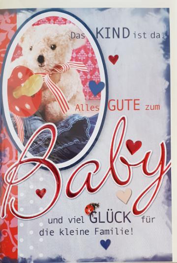 Ereignisbillett - Baby 03-31-1486