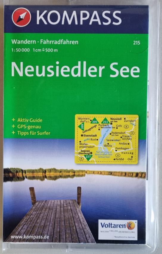 Wander - Rad - Freizeitkarte 07-KO-215 Neusiedlersee