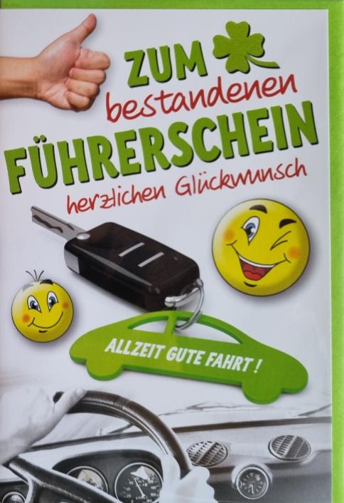 Führerscheinbillett 03-44-9002