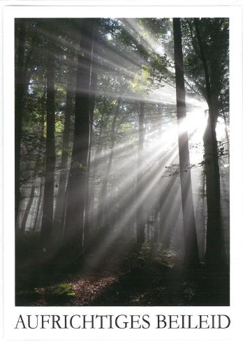 Trauerbillett - Kassette 03-81-02798
