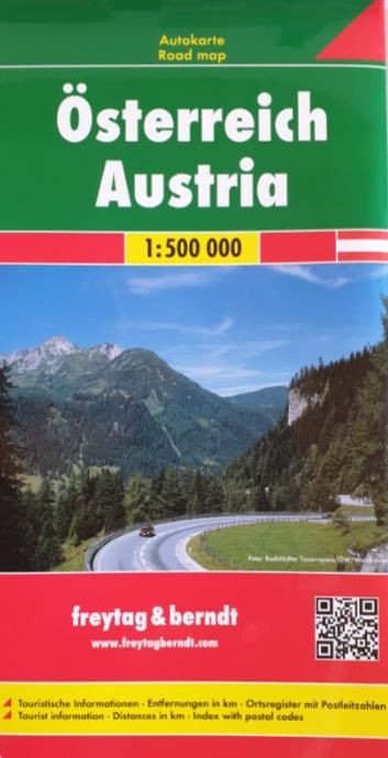 Auto - Freizeitkarte 07-FB - Österreich - Austria