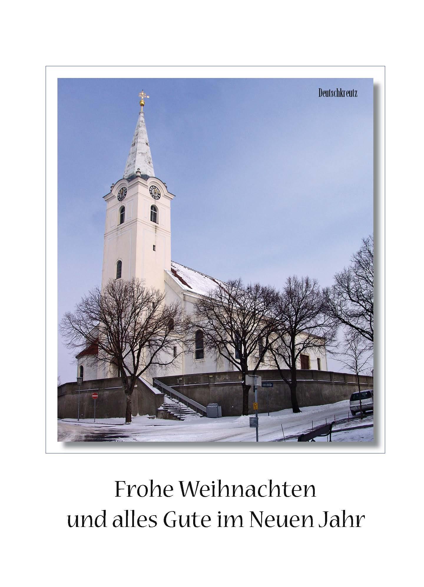 Orts - Weihnachtsbilletts - Deutschkreutz 03-22-7301-04