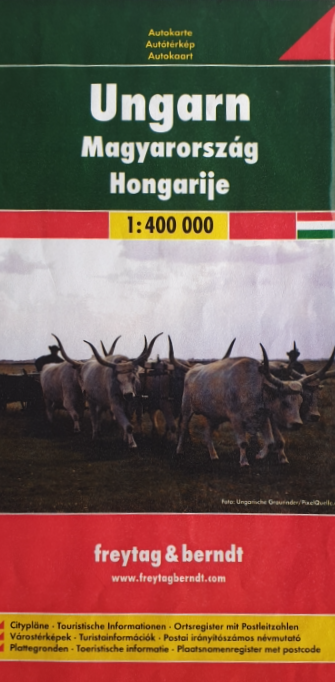 Auto - Freizeitkarte 07-FB - Ungarn