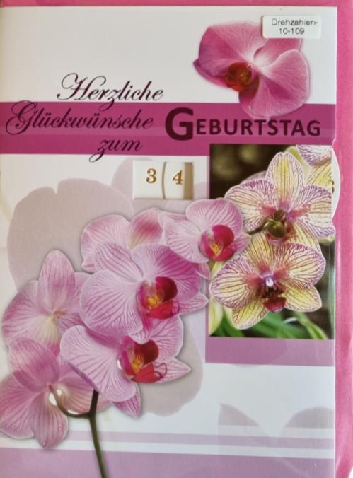 Einstell- Geburtstagsbillett 03-52-2836