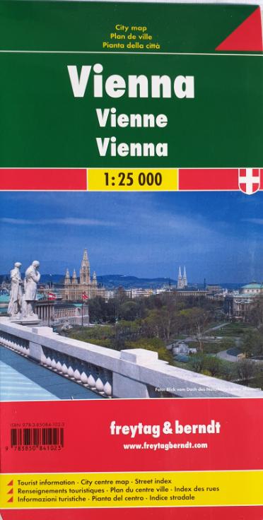 City map 07-FB - Wien