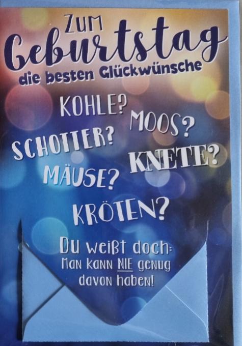 Geburtstagsbillett 03-51-1158