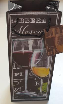 Geschenktaschen - Flasche 04-01-3001
