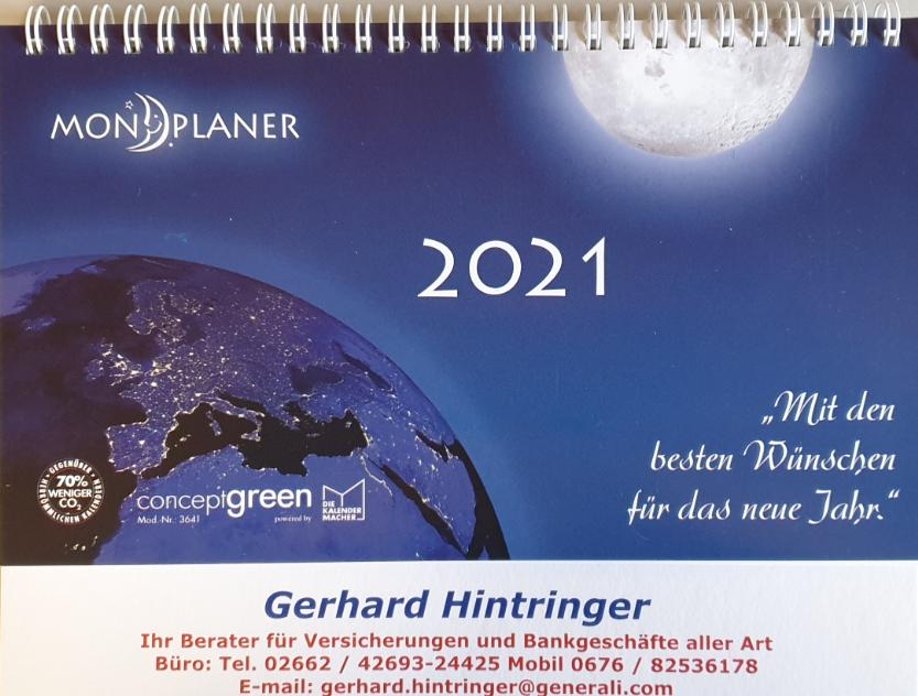Stehkalender - Jahreskalender 14-02-2022