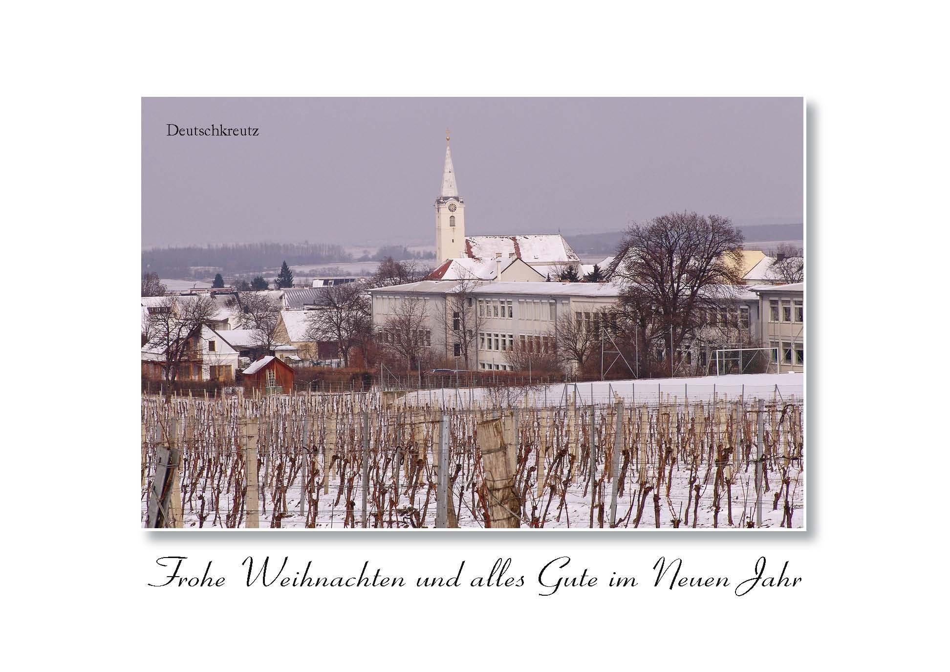 Orts - Weihnachtsbilletts - Deutschkreutz 03-22-7301-02