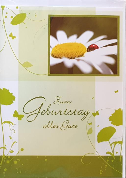 Geburtstagsbillett - Kassette 03-51-02797